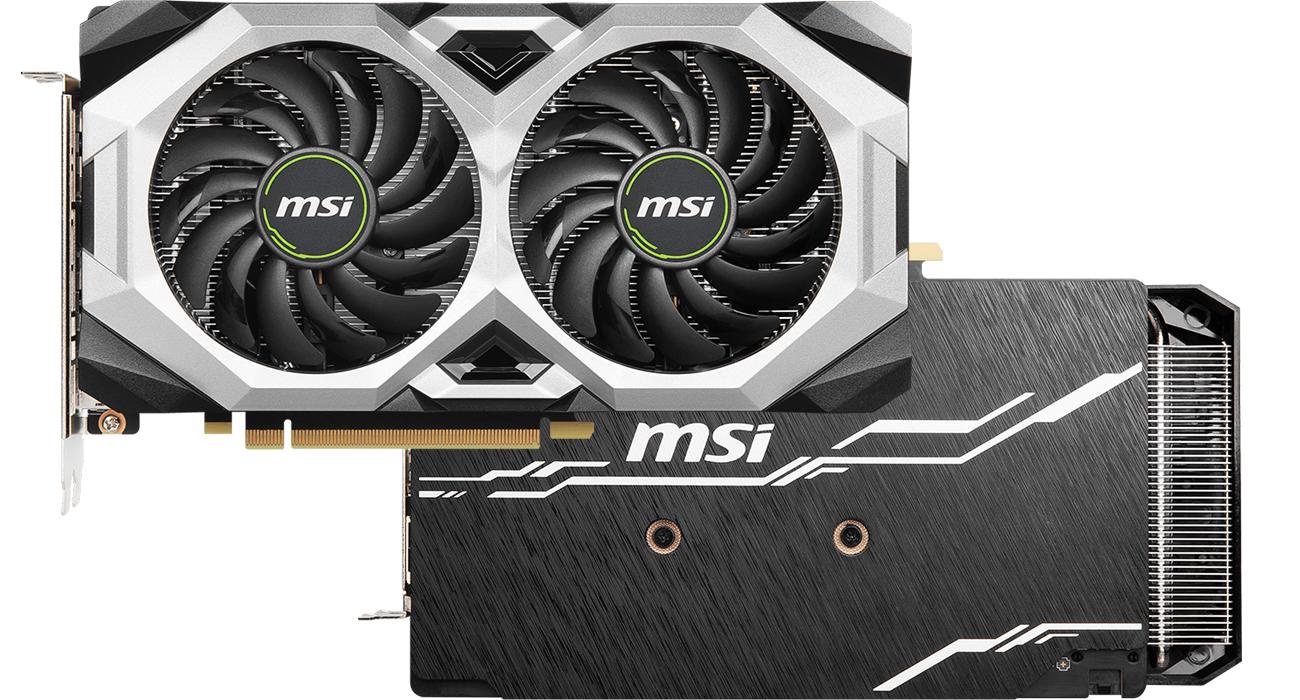 MSI Geforce RTX 2070 VENTUS GP - Chłodzenie
