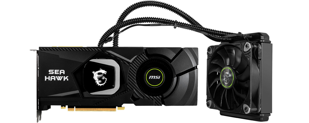 MSI GeForce RTX 2080 SEA HAWK X 8 GB