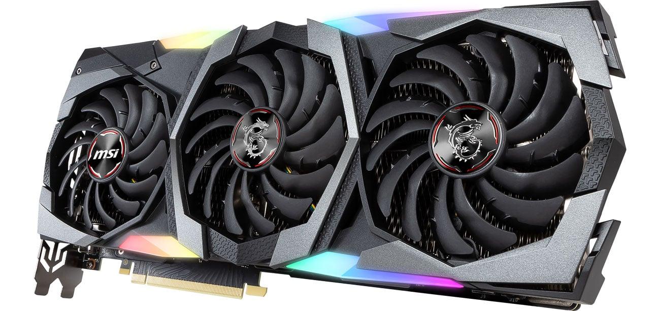 MSI Geforce RTX 2080 SUPER GAMING X TRIO - Podświetlenie RGB