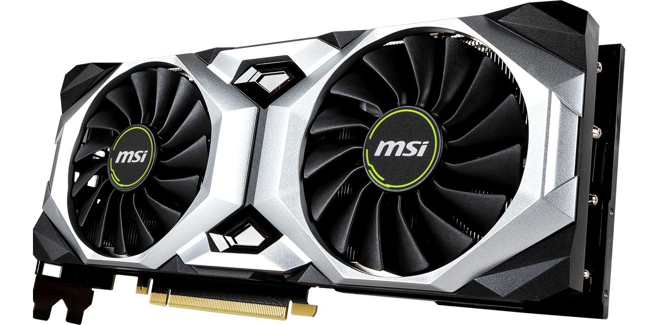 MSI Geforce RTX 2080 SUPER VENTUS OC - Chłodzenie