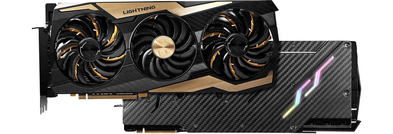 MSI GeForce RTX2080 Ti LIGHTNING Z Przód i tył