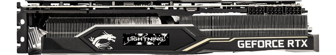MSI GeForce RTX2080 Ti LIGHTNING Z Wyświetlacz OLED