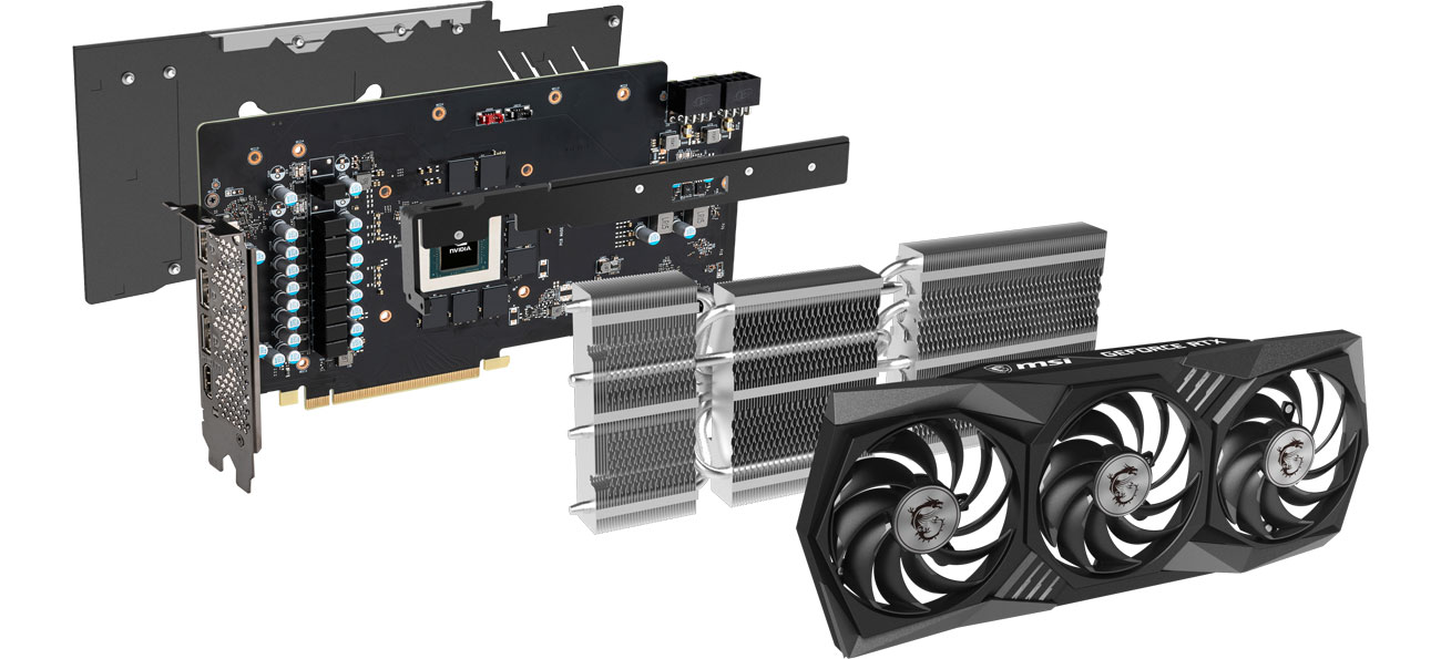 MSI GeForce RTX 3070 GAMING Z TRIO 8 GB