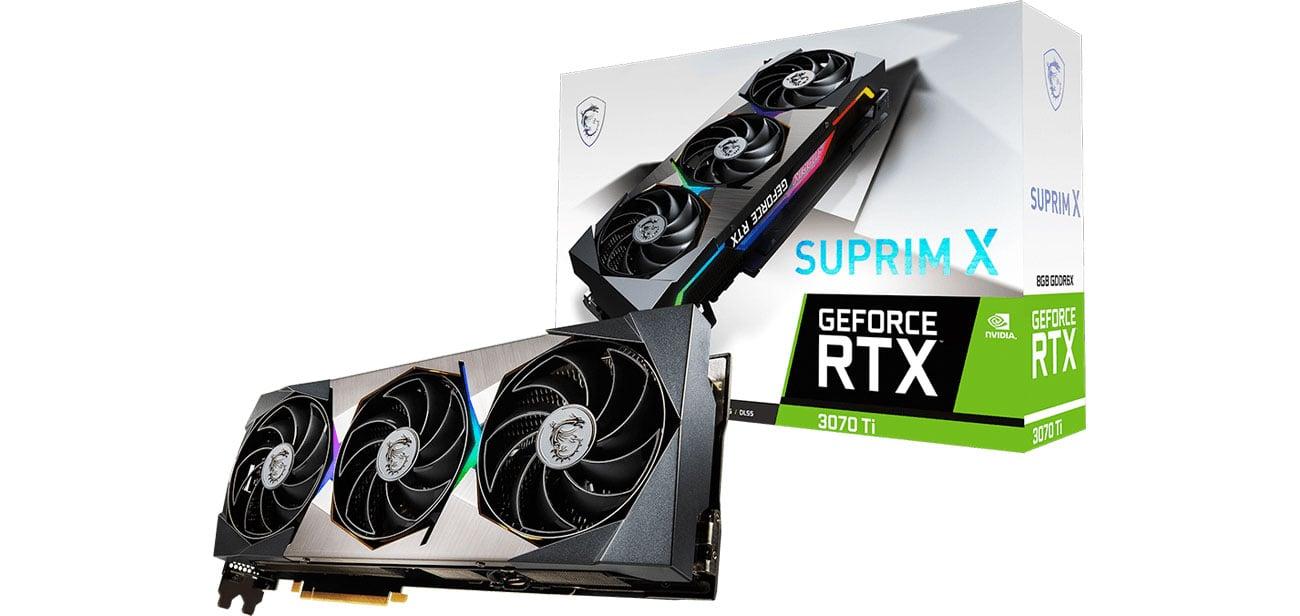 MSI GeForce RTX 3070 Ti SUPRIM X 8GB GDDR6X RTX 3070 Ti SUPRIM X 8G
