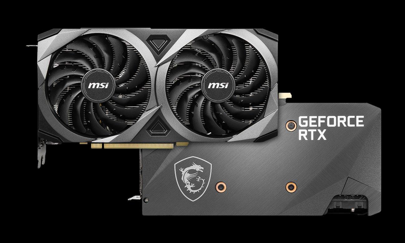 MSI GeForce RTX 3070 Ventus 2X OC - Design