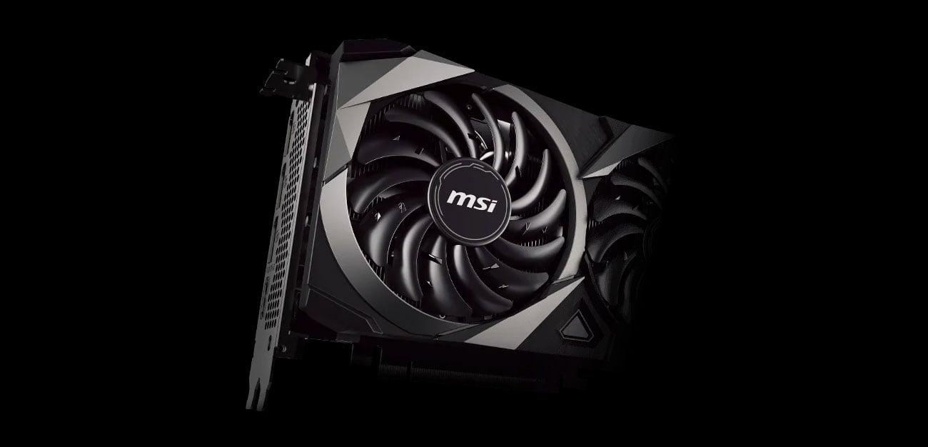 MSI GeForce RTX 3070 Ventus 3X OC - Chłodzenie
