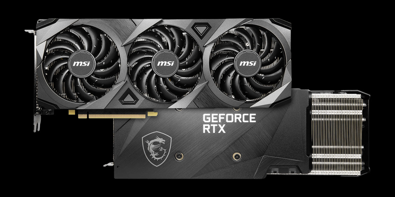 MSI GeForce RTX 3070 Ventus 3X OC - Design