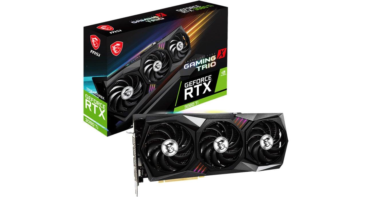 MSI GeForce RTX 3080 Ti GAMING X TRIO 12GB GDDR6X