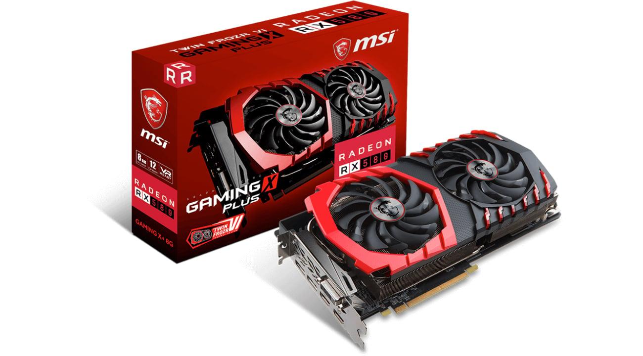 Radeon RX 580 GAMING X+ 8G GDDR5