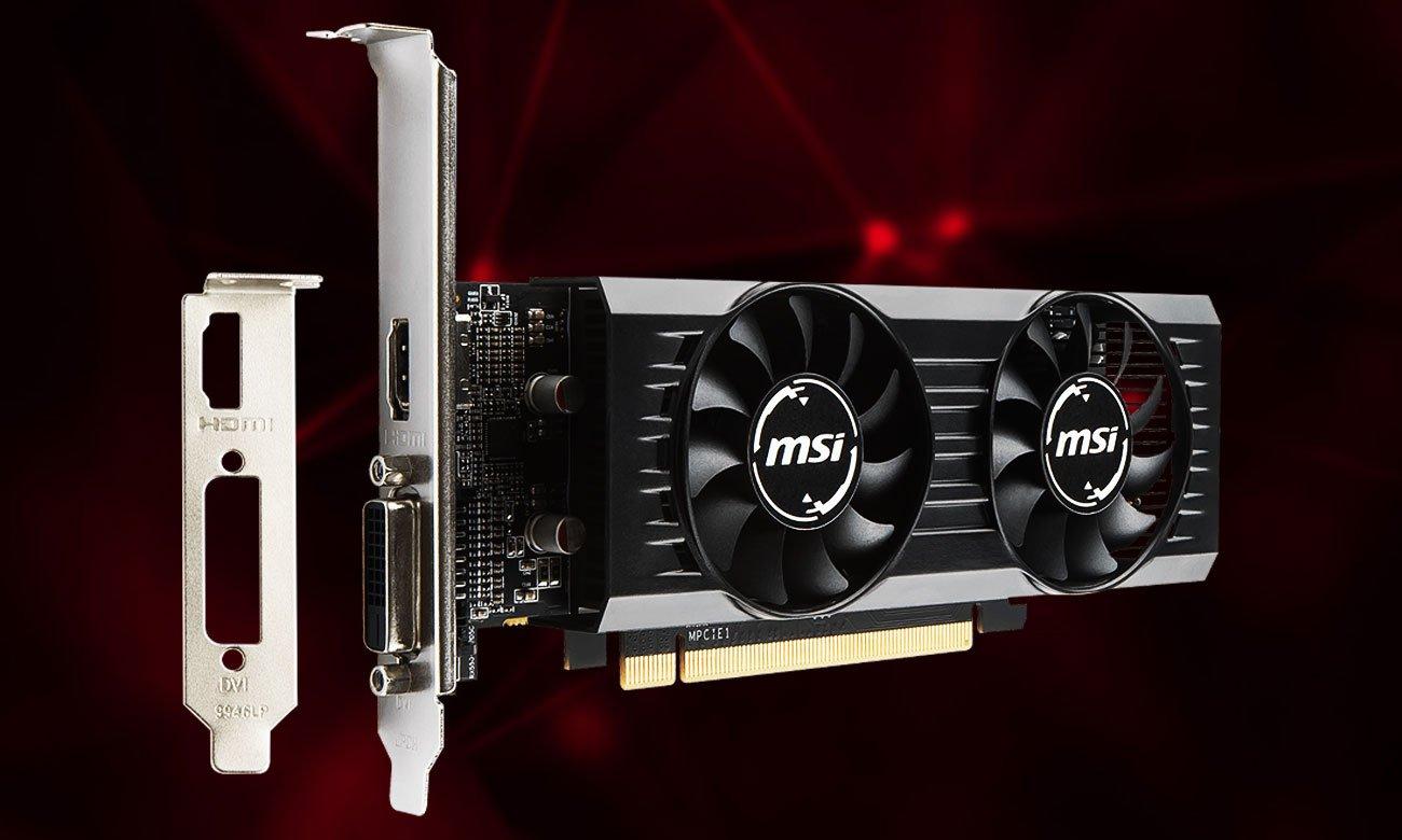 MSI Radeon RX 550 4GT LP OC