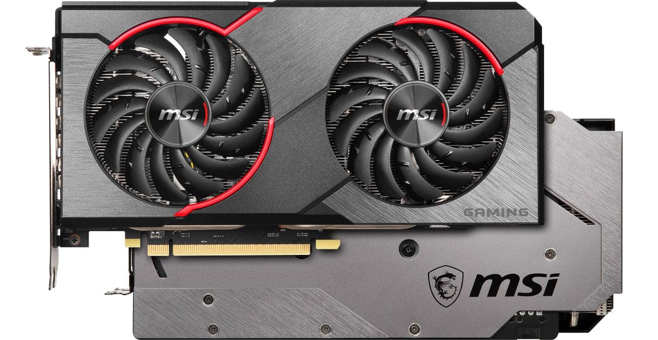 MSI Radeon RX 5500 XT GAMING X - Chłodzenie