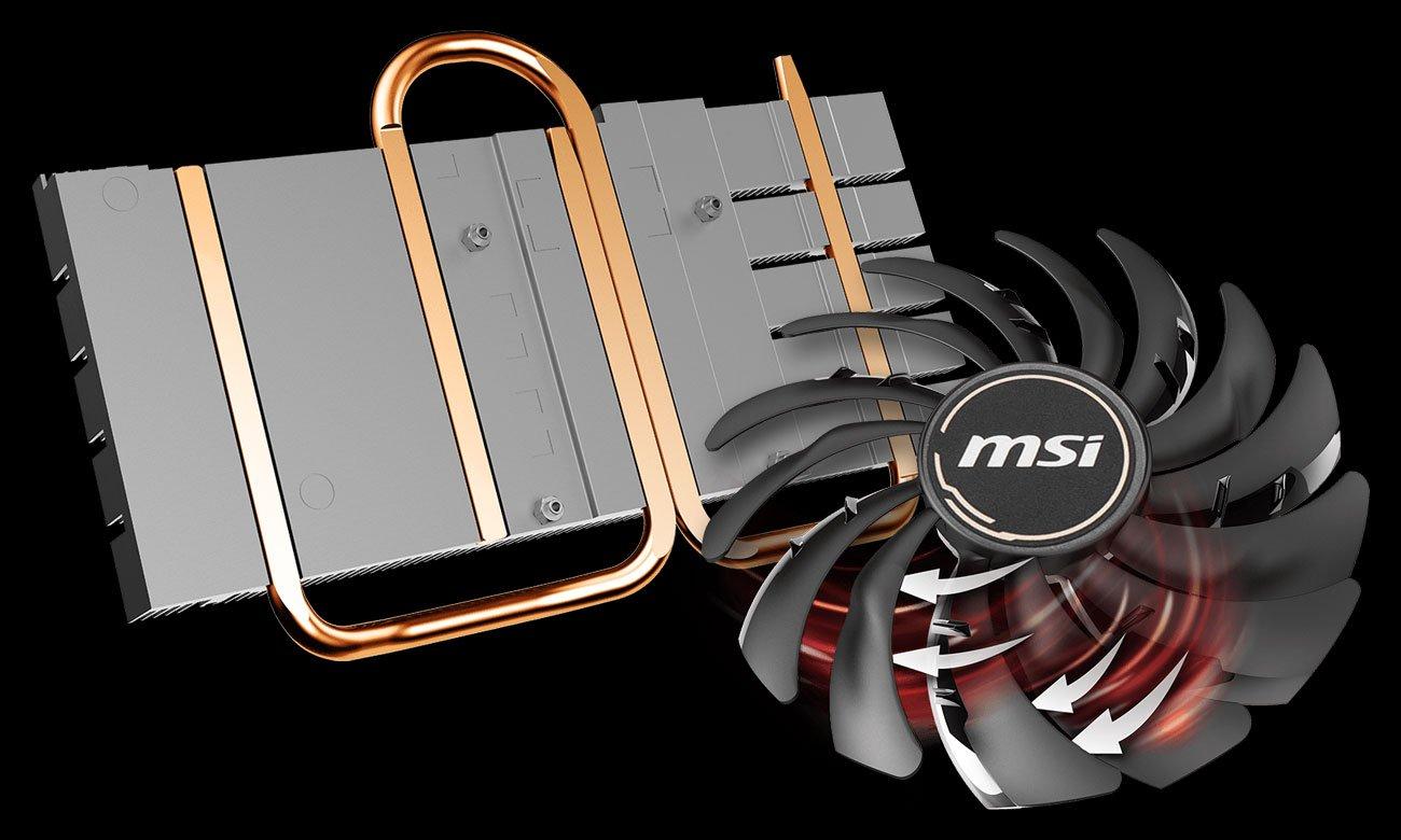 MSI Radeon RX 5500 XT MECH OC - Chłodzenie