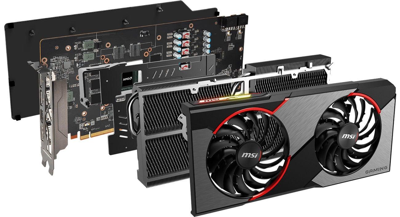 MSI Radeon RX 5600 XT GAMING X - Twin Frozr 7
