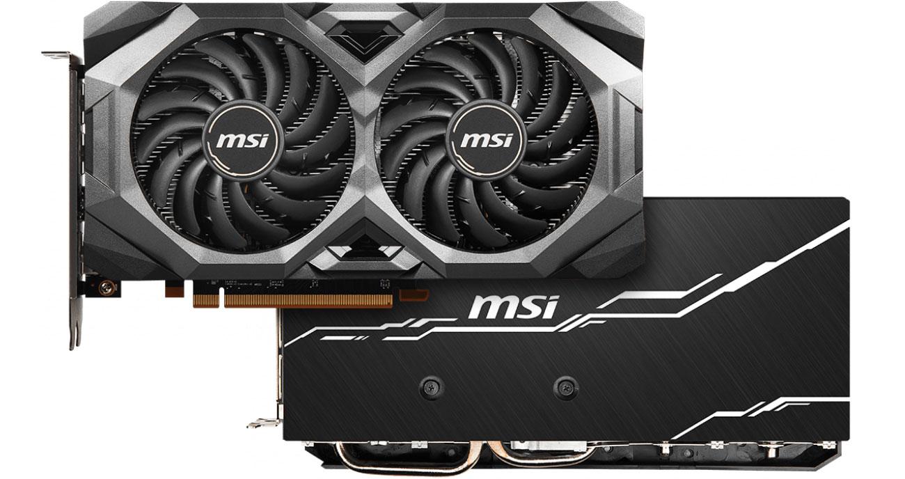MSI Radeon RX 5700 MECH GP OC - Przód, tył