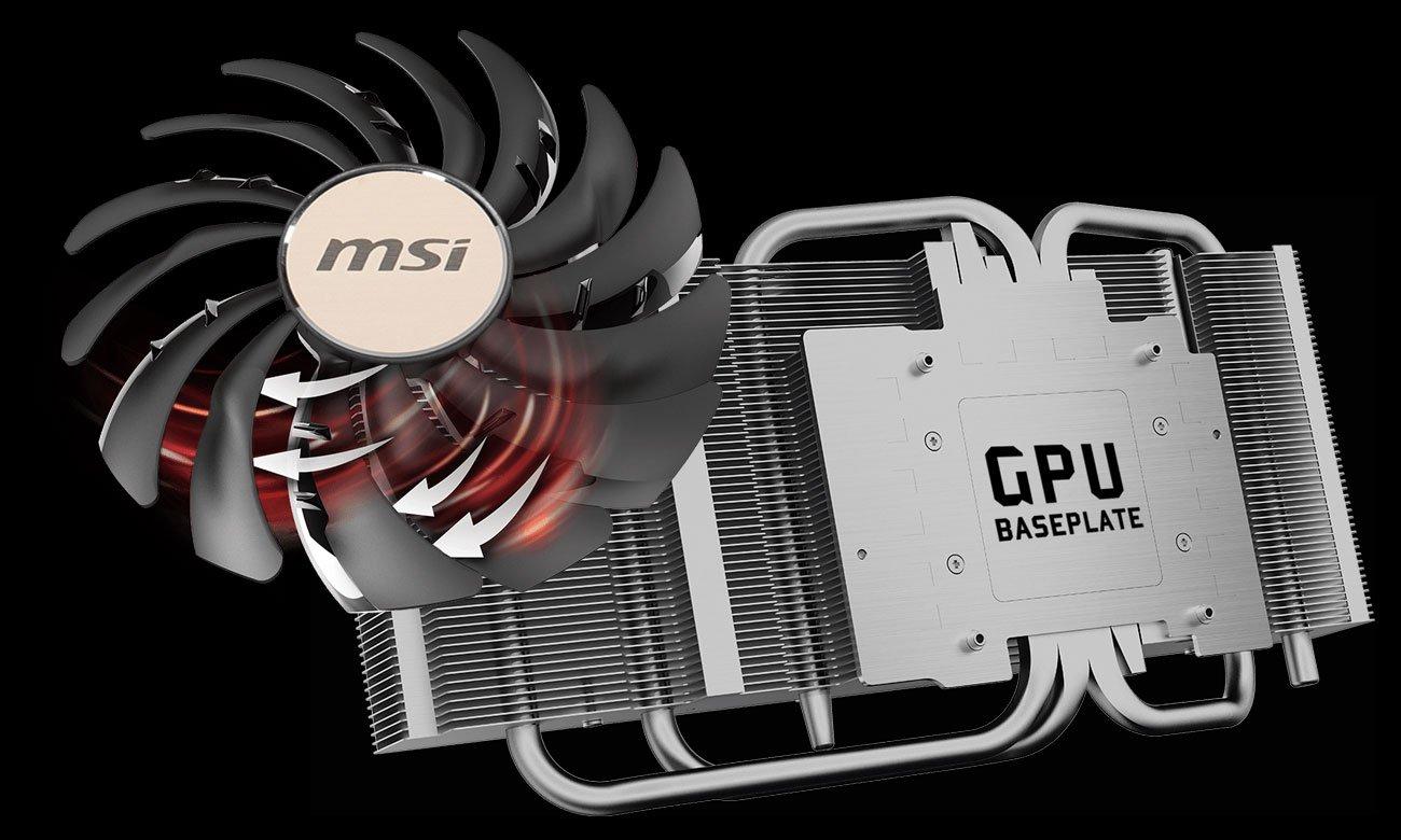 MSI Radeon RX 5700 XT EVOKE OC - Chłodzenie