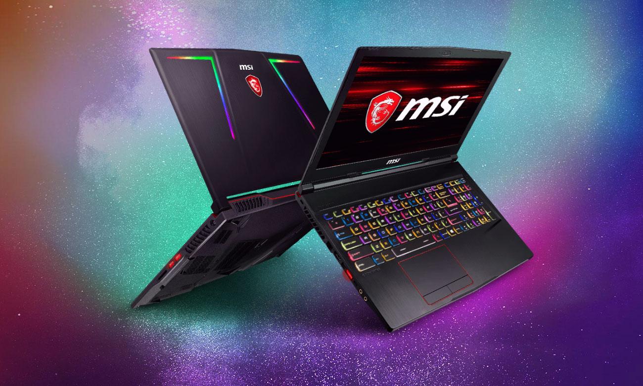 MSI GE63 Raider RGB 8RE laptop stworzony do gamingu