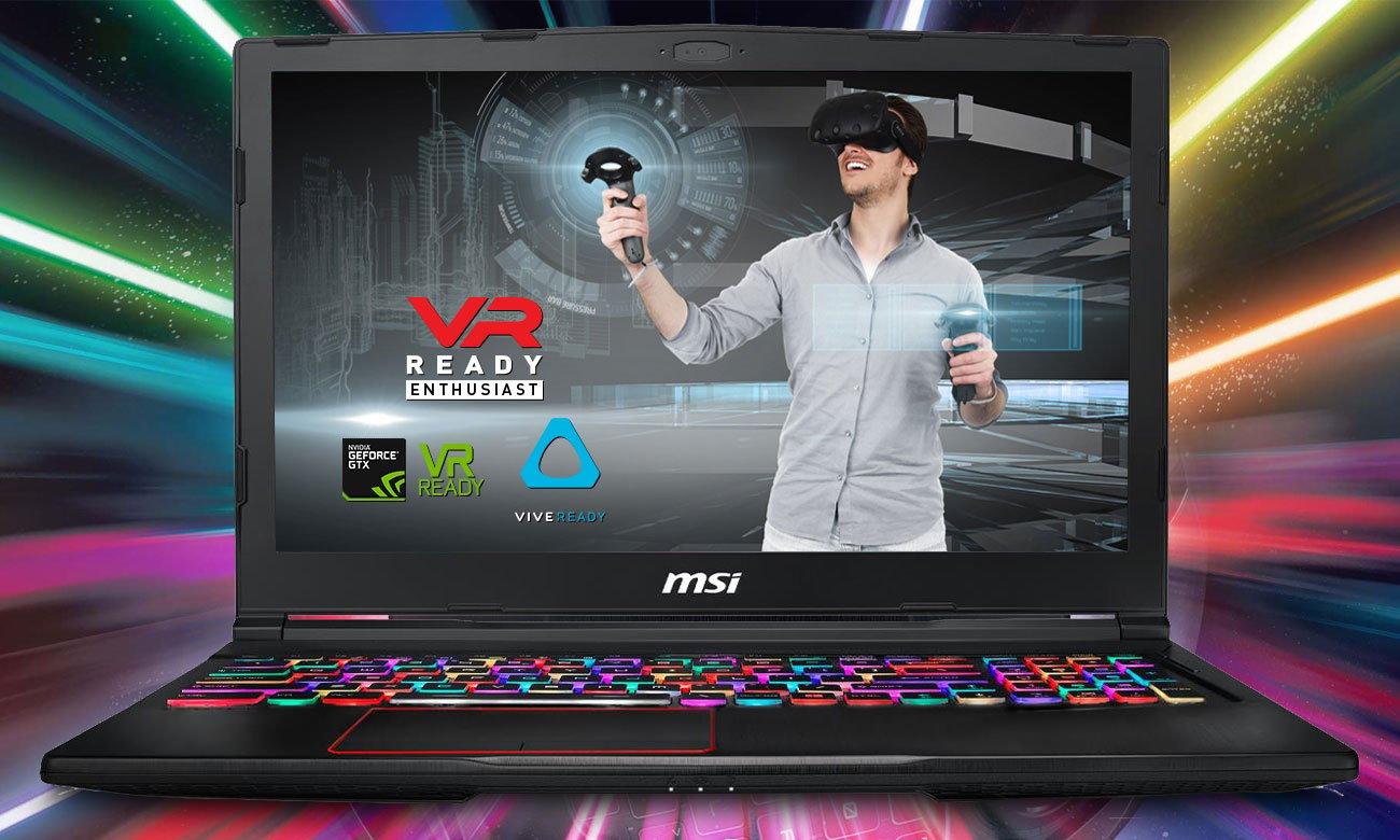MSI GE63 Raider RGB 8RF VR READY