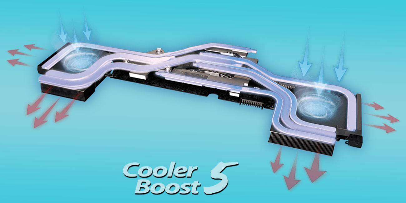 MSI GE63 Raider RGB 8RF Chłodzenie Cooler Boost 5