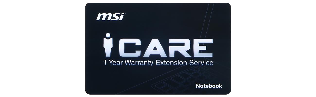 MSI Raider GE63 8RE-003PL + Przedłużenie gwarancji NB MSI o rok