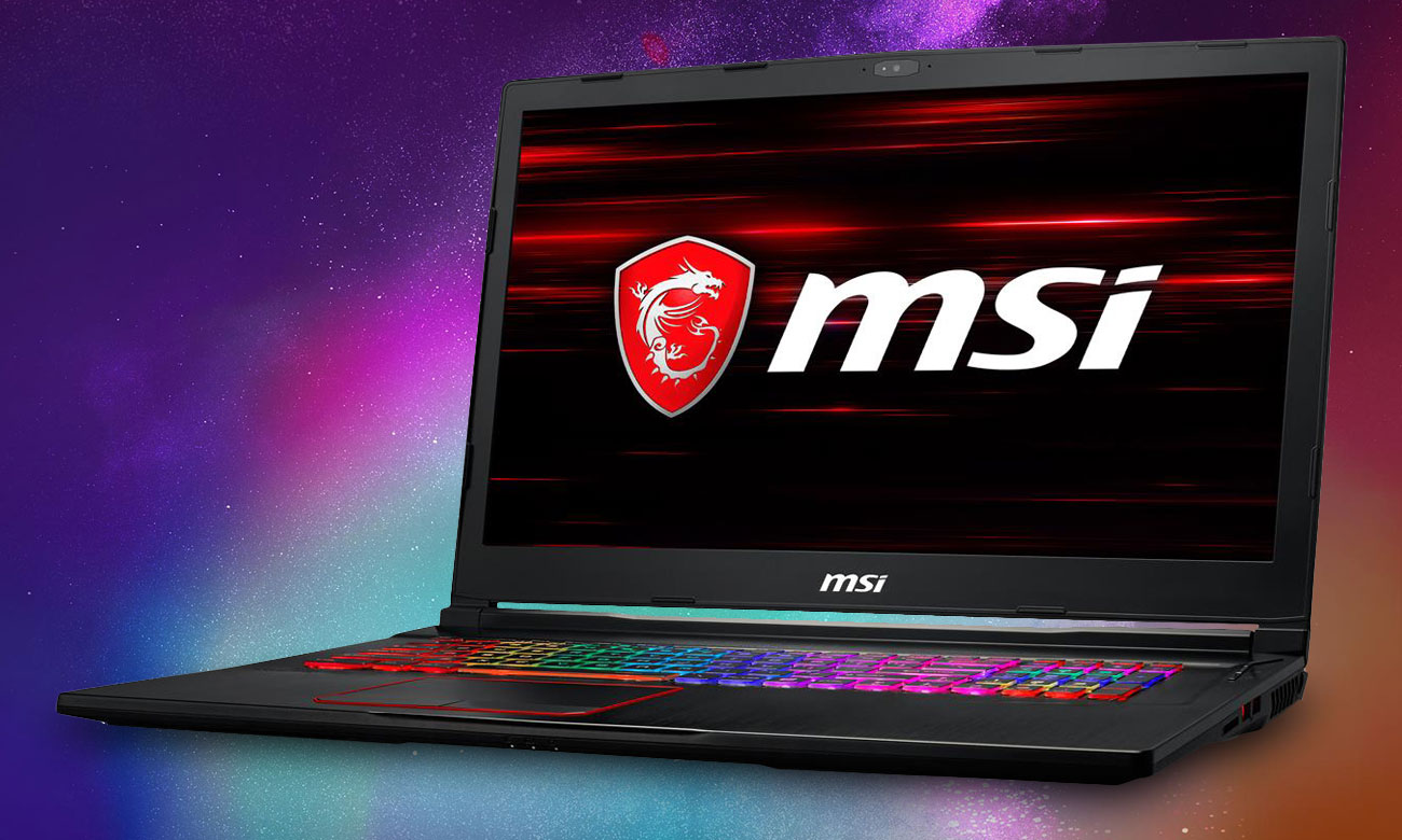 MSI GE73 Raider RGB 8RF Technologia Killer Shield