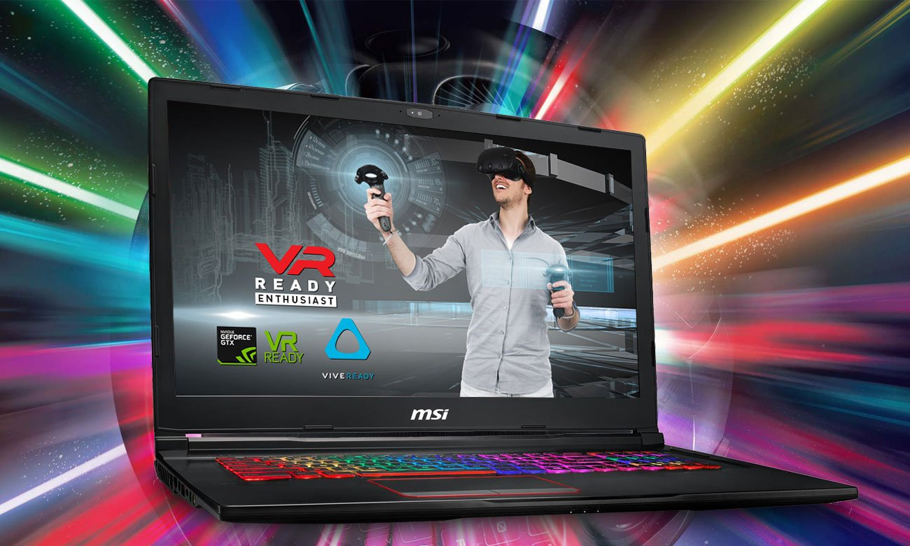 MSI GE73 Raider RGB 8RE VR READY