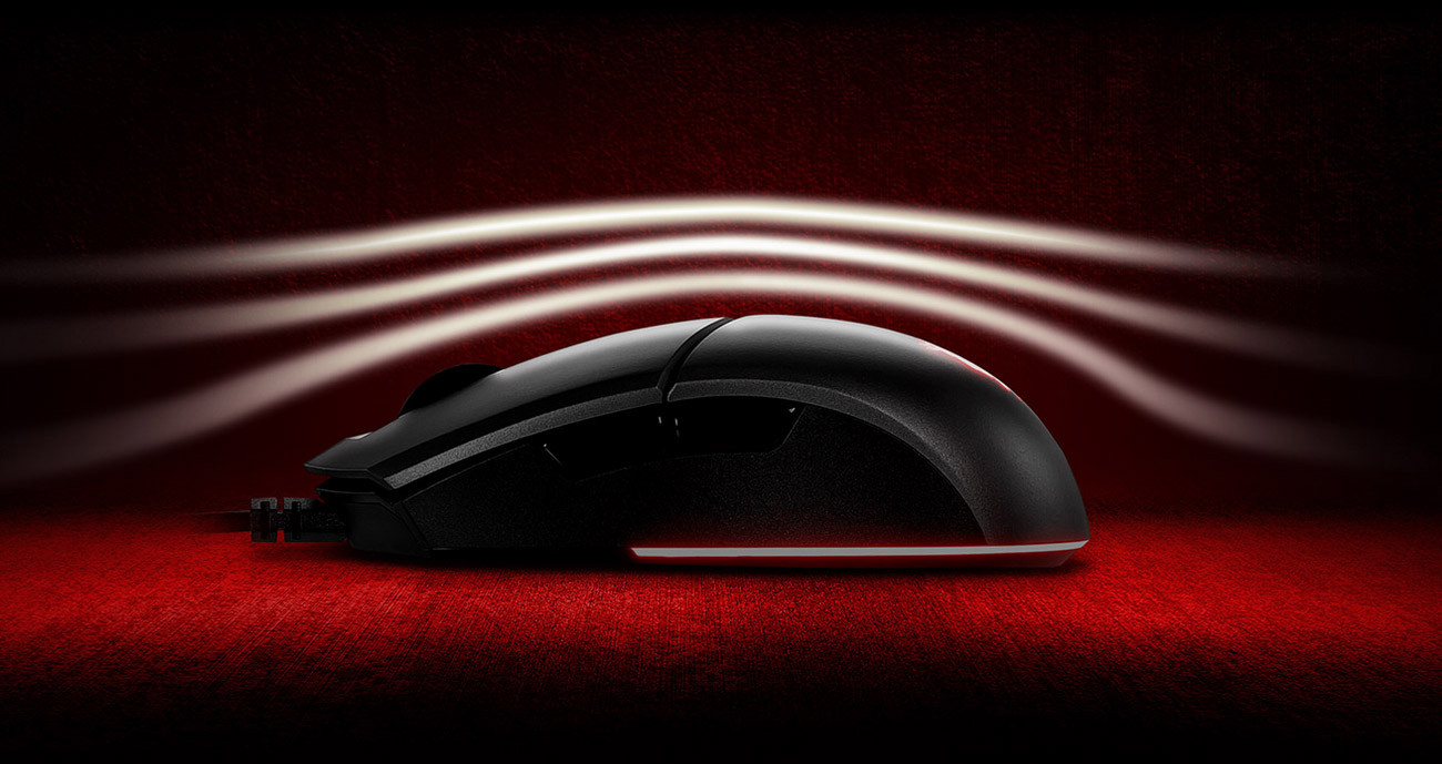 Mysz dla graczy MSI Clutch GM11
