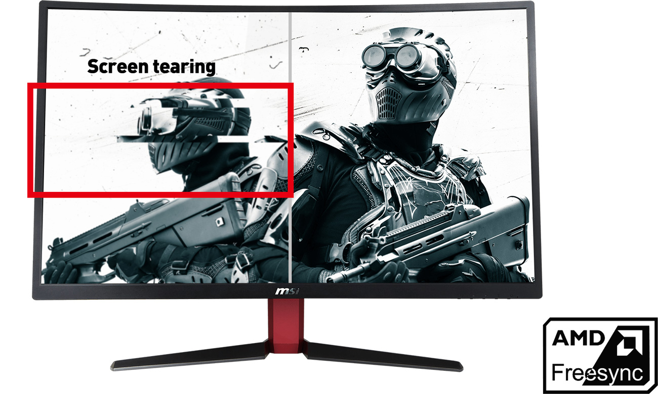 MSI Optix G27C2 AMD® FreeSync™
