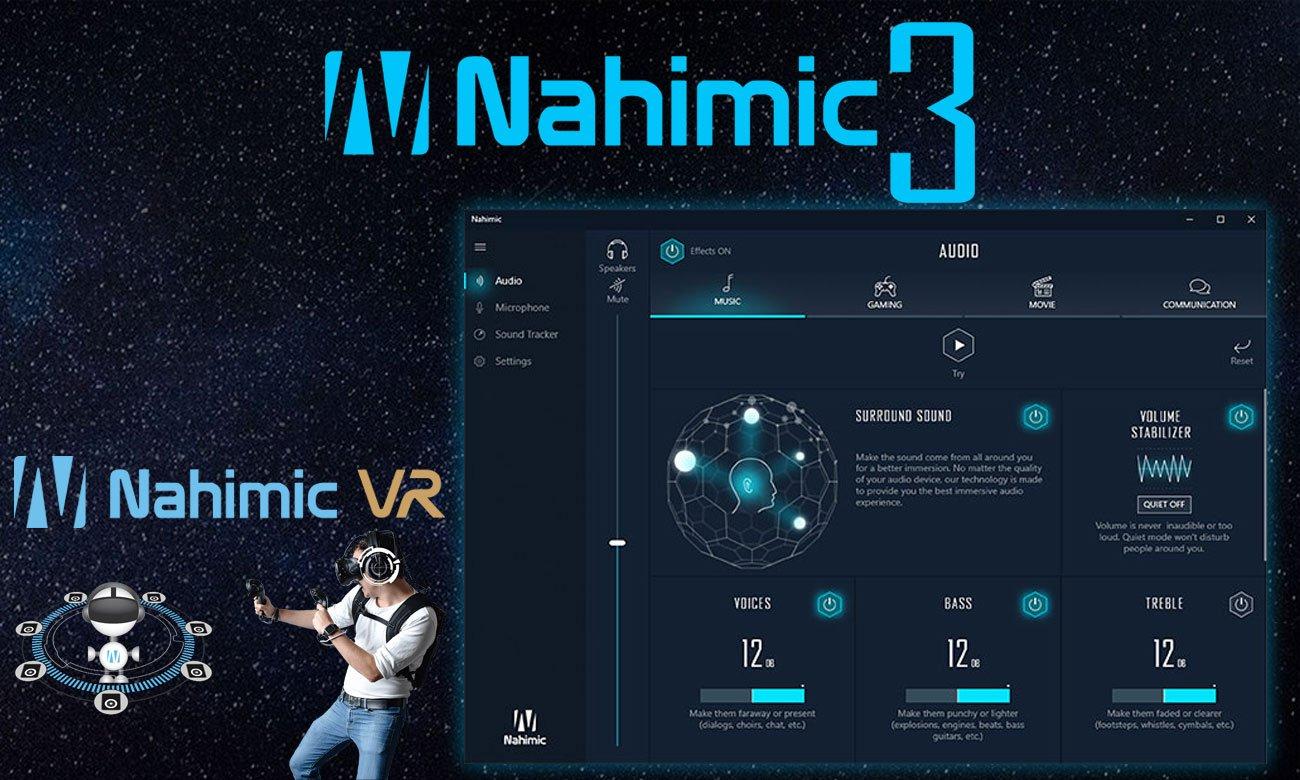 MSI Stealth GS73 8RE Nowa technologia dźwiękowa Nahimic 3