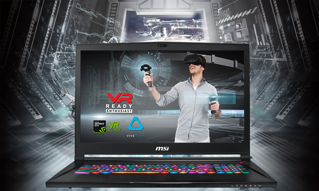 MSI Stealth GS73 8RE VR READY