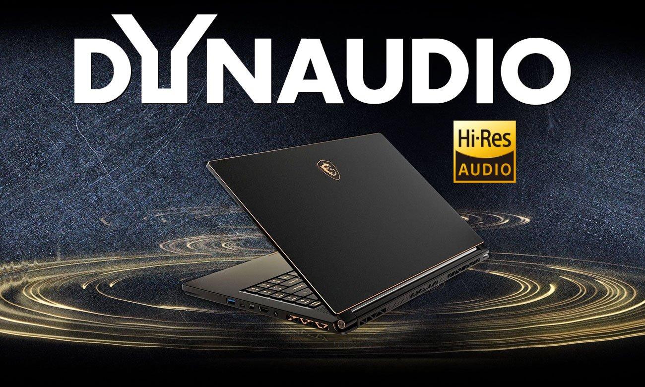 MSI GS65 Stealth Thin 8RF Realistyczne wrażenia dźwiękowe
