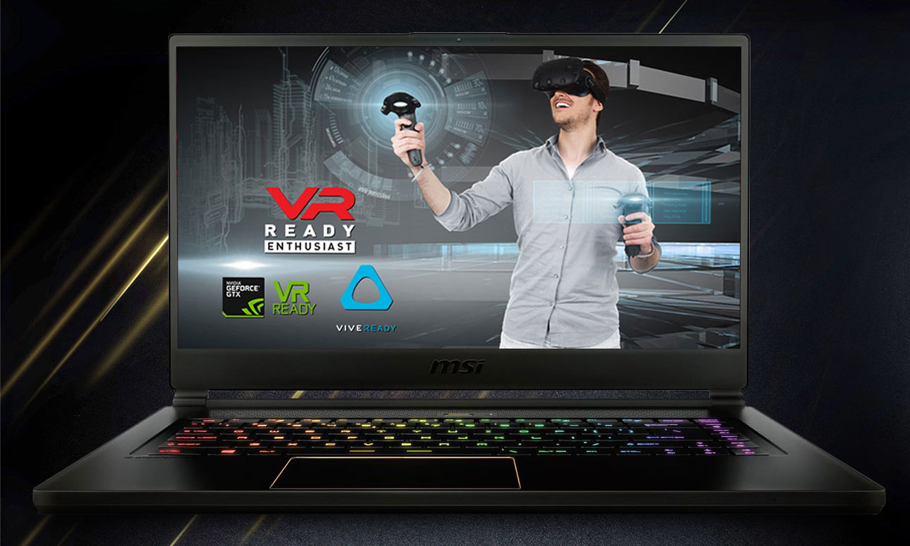 MSI GS65 Stealth Thin 8RF VR Ready