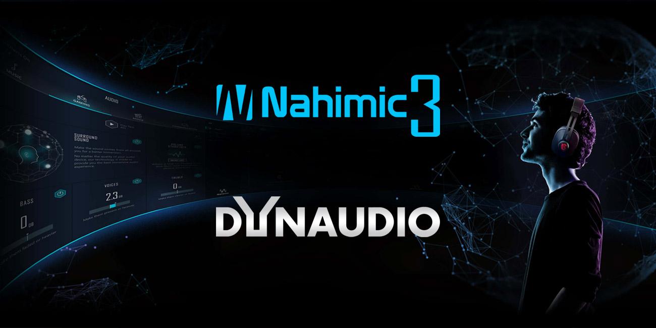 MSI GT63 Titan 8RF technologia dźwiękowa Nahimic 3 i głośniki DYNAUDIO