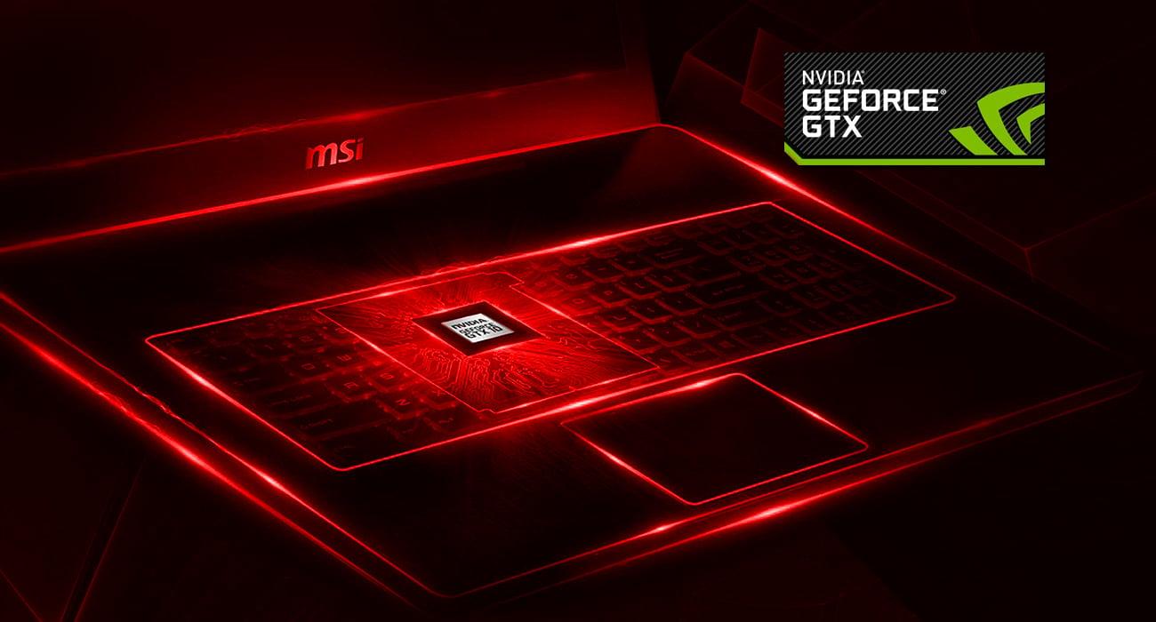 MSI Titan GT75 8RG GeForce GTX 1080