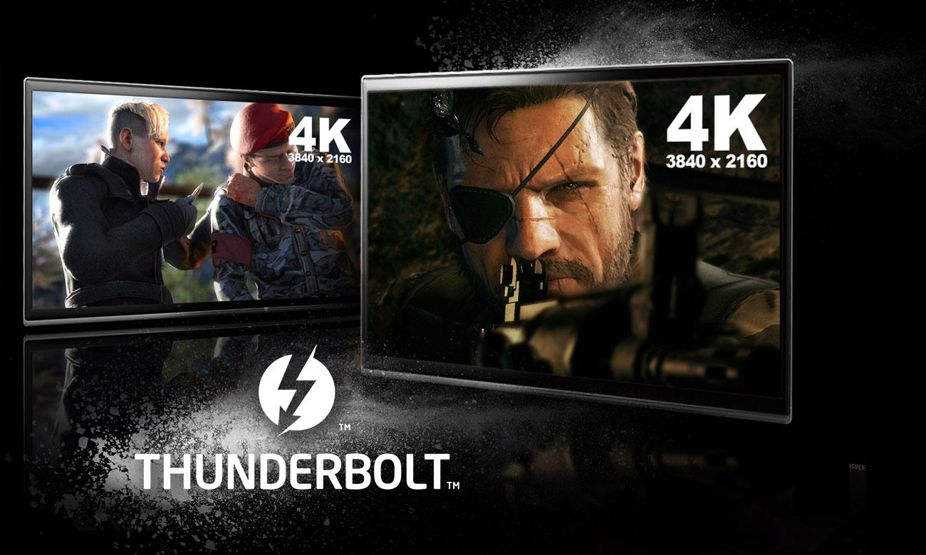 MSI Titan GT75 8RG Interfejs Thunderbolt 3