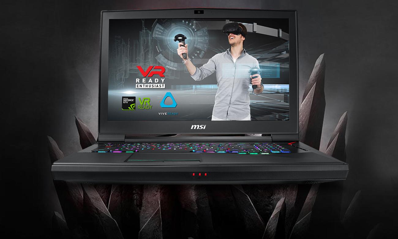 MSI Titan GT75 8RG VR Ready
