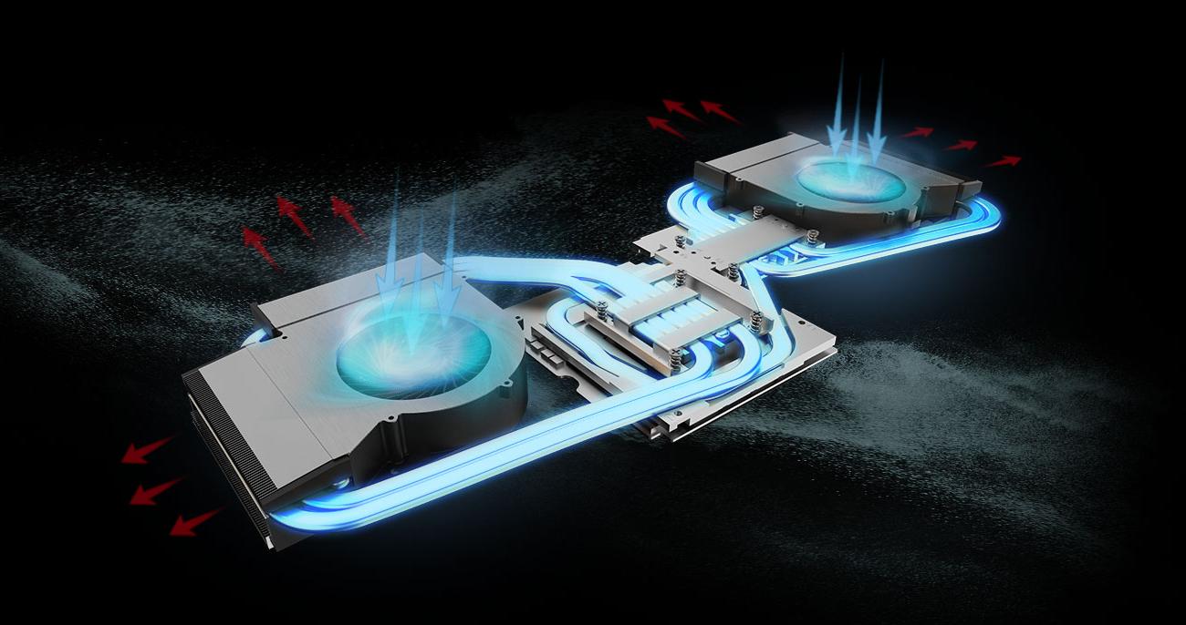 MSI Titan GT75 8SG Chłodzenie Cooler Boost Titan
