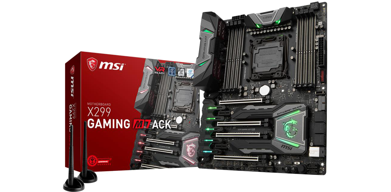 Płyta główna Socket 2066 MSI X299 GAMING M7 ACK (DDR4)