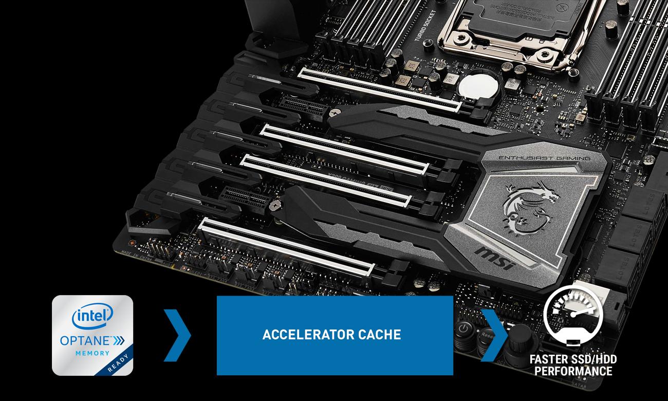 MSI X299 GAMING M7 ACK Wydajność pamięci