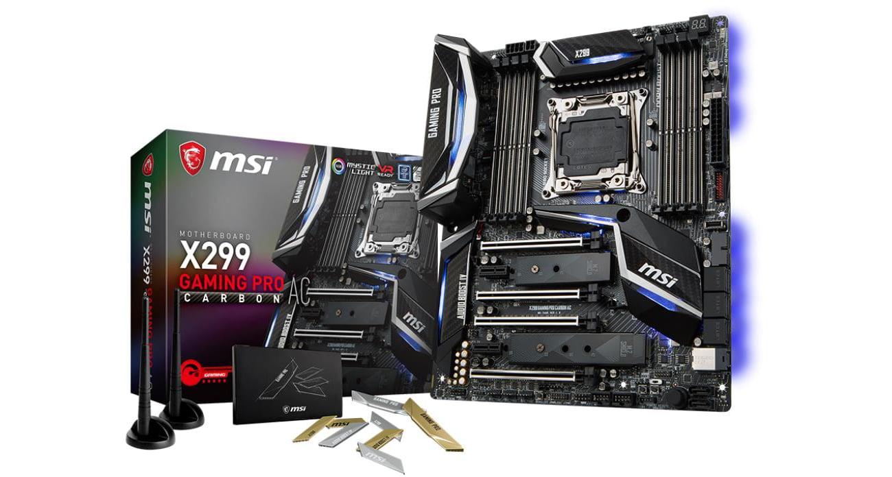 Płyta główna Socket 2066 MSI X299 GAMING PRO CARBON AC (DDR4)