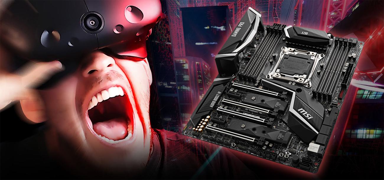 MSI X299 GAMING PRO CARBON AC System VR Boost