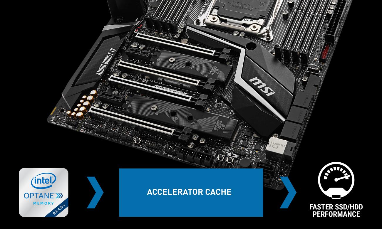 MSI X299 GAMING PRO CARBON Wydajność pamięci