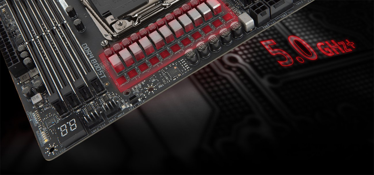 MSI X299 GAMING PRO CARBON Overclocking