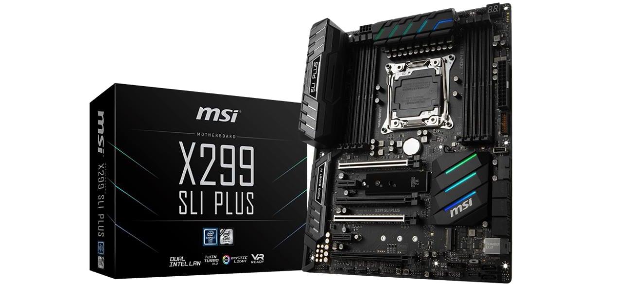 Płyta główna Socket 2066 MSI X299 SLI PLUS (DDR4)