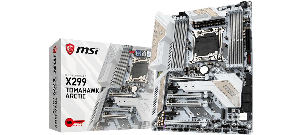 Płyta główna Socket 2066 MSI X299 TOMAHAWK ARCTIC (DDR4)