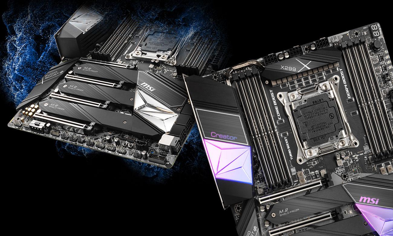 MSI X299 CREATOR - Konstrukcja