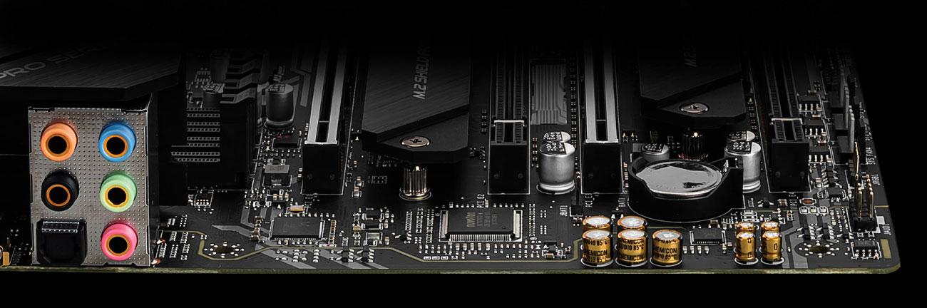MSI X299 PRO - Audio