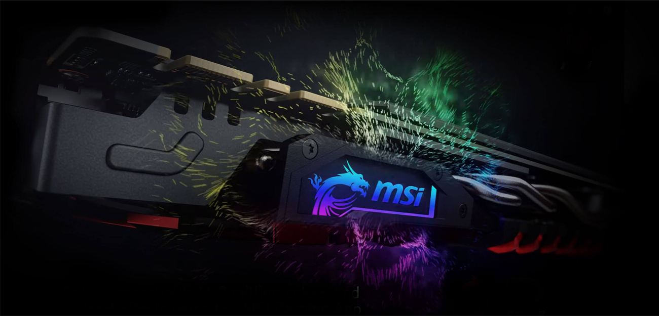 MSI X370 KRAIT GAMING podświetlenie LED