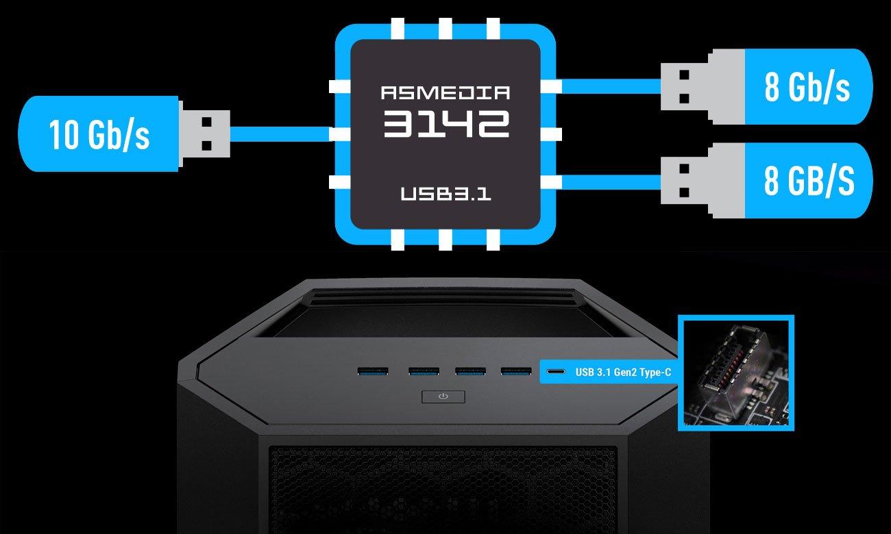 MSI X399 SLI PLUS ASMEDIA 3142 USB 3.1 Gen2