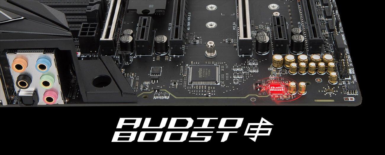 MSI X399 SLI PLUS Audio Boost 4