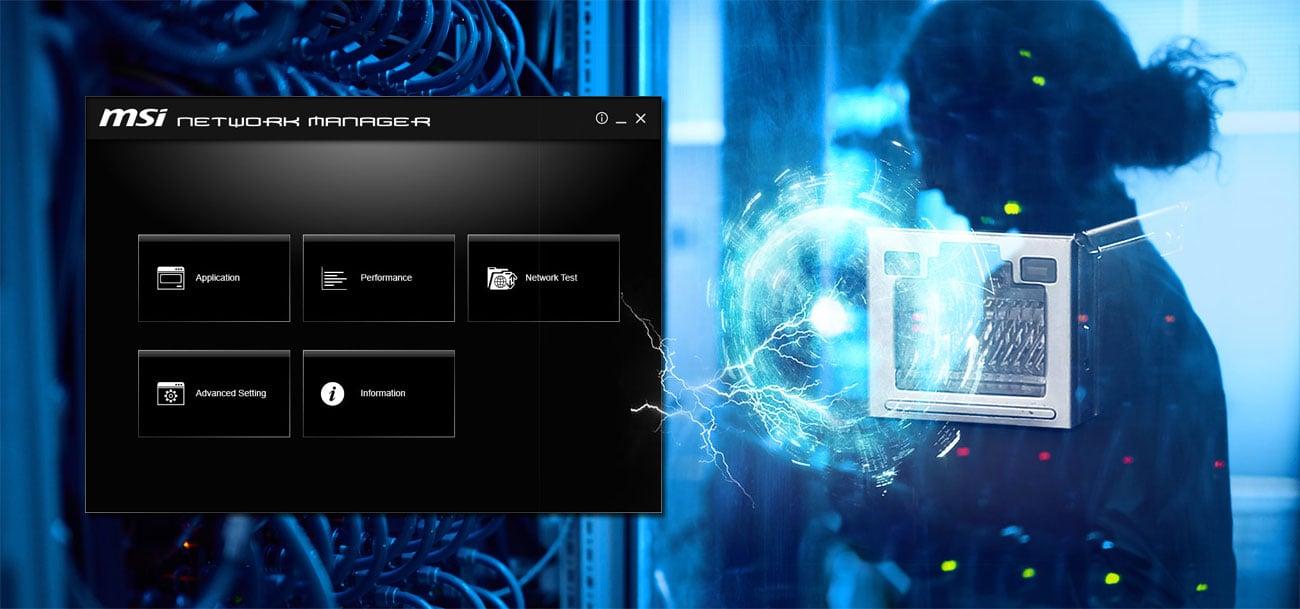 MSI X399 SLI PLUS Network Manager